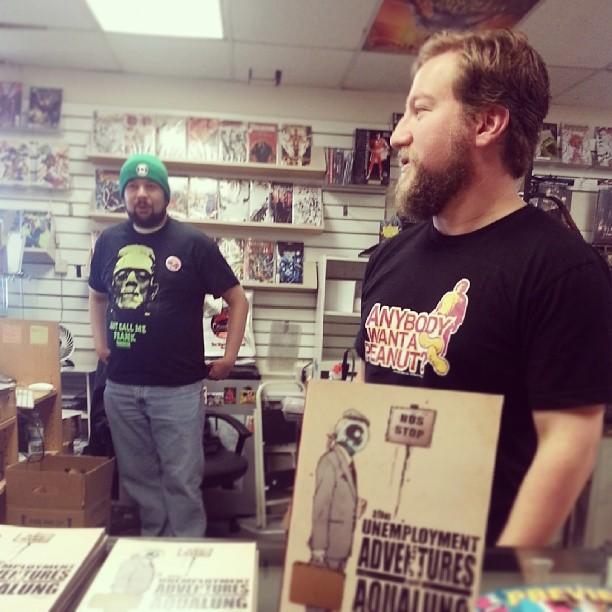 Current Comics_signing 2013