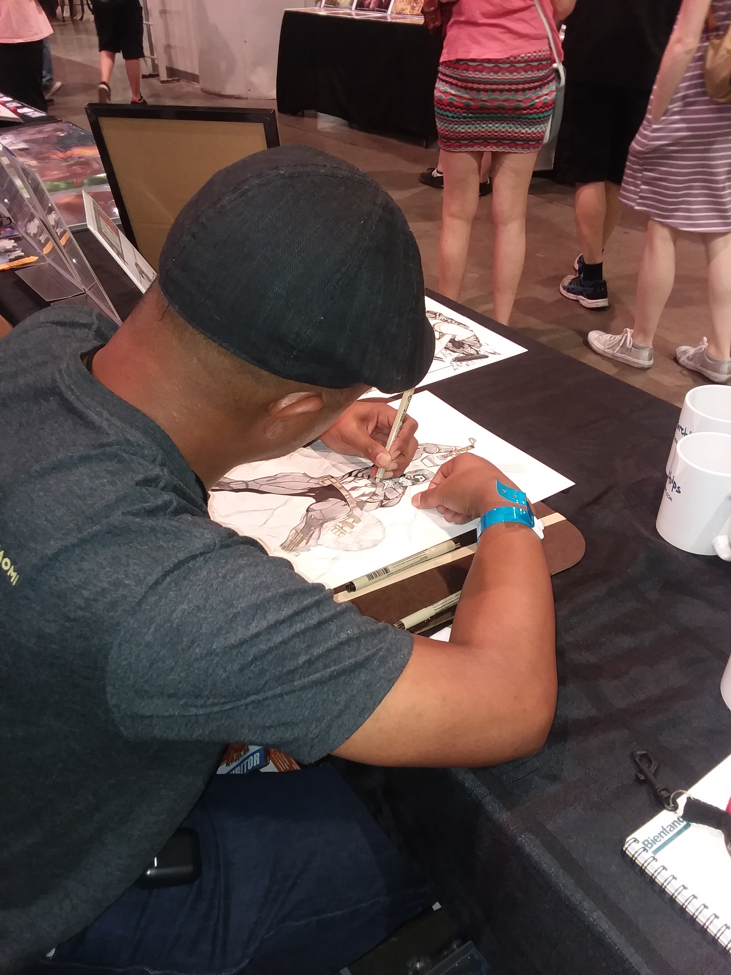 Chris Arrocena Amazing Las Vegas Comic Con