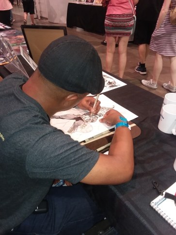 Chris Arrocena Amazing Las Vegas Comic Con