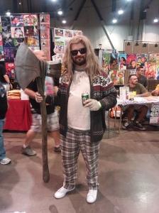 The Big Thorbowski Cosplay - Thor and The Big Lebowski Mashup