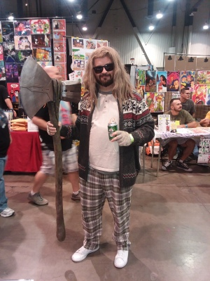 The Big Thorbowski Cosplay - Thor and The Big Lebowski Mashup