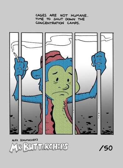 Mr Butterchips Webcomic Print