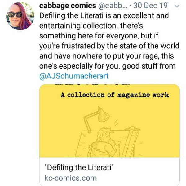 Cabbage Comics Review