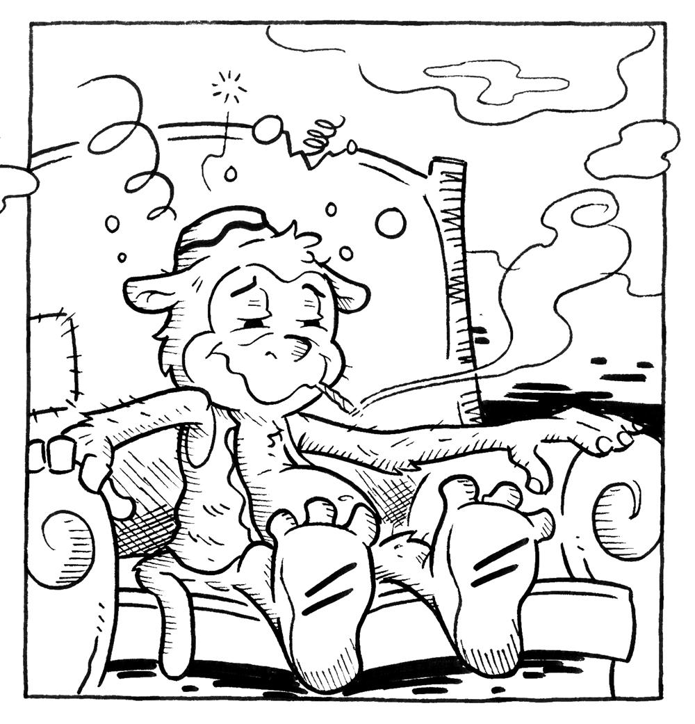 Mr. Butterchips #9-panel